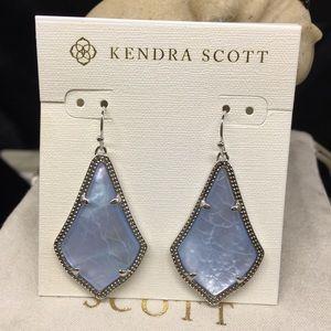 Kendra Scott Alex Light Blue Illusion S earrings